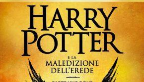 Harry potter la maledizione dell'erede copertina