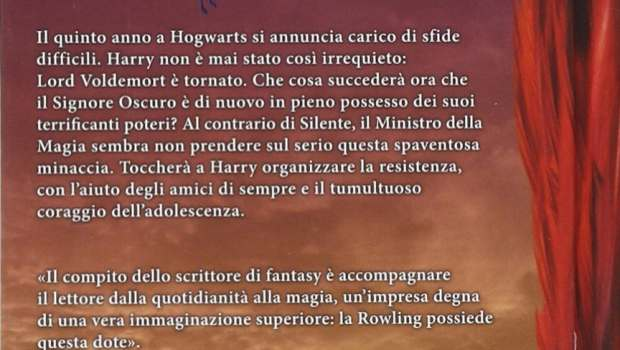 Harry Potter e l'Ordine della Fenice retro