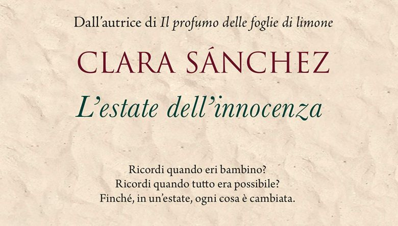 L'estate dell'innocenza di Clara Sanchez