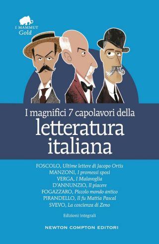 i magnifici 7 capolavori della letteratura italiana pdf copertina